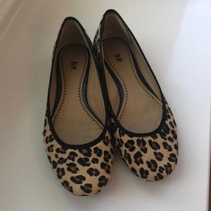 BP Leopard Flats- Size 7
